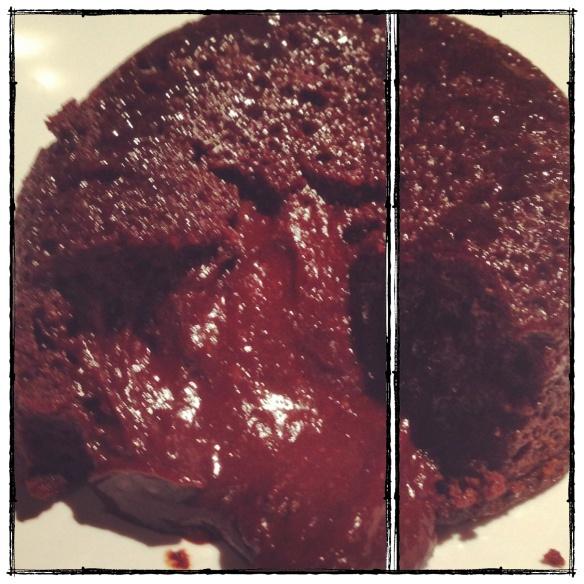 paleo chocolate lava cake (grain-free, dairy-free)