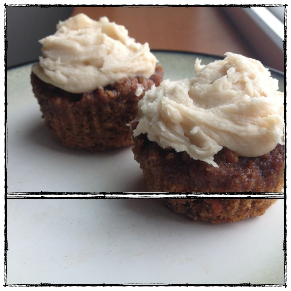 Carrot Cake Muffins (dairy-free, grain-free, gluten-free, paleo, processed sugar-free)