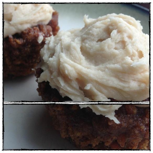 Coconut Cream Frosting (dairy-free, processed sugar-free, paleo, vegan)