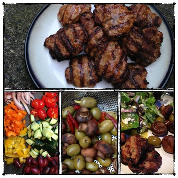 greek lamb burgers, grain free, paleo, dairy free, primal