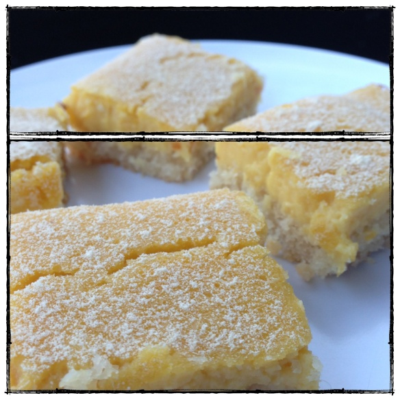 lemon bars (grain gluten dairy free, paleo)