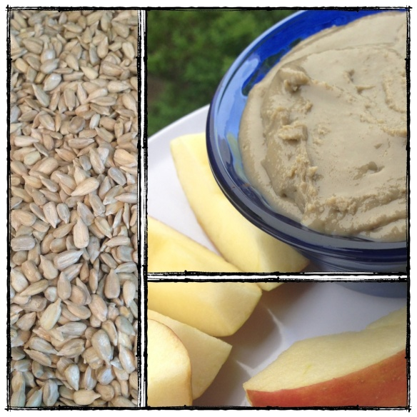 sunflower seed butter, nut free, paleo