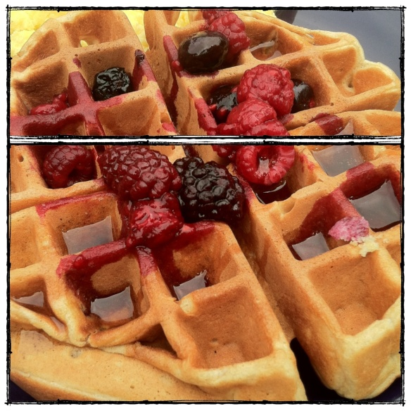 Whole Wheat Belgian Waffles