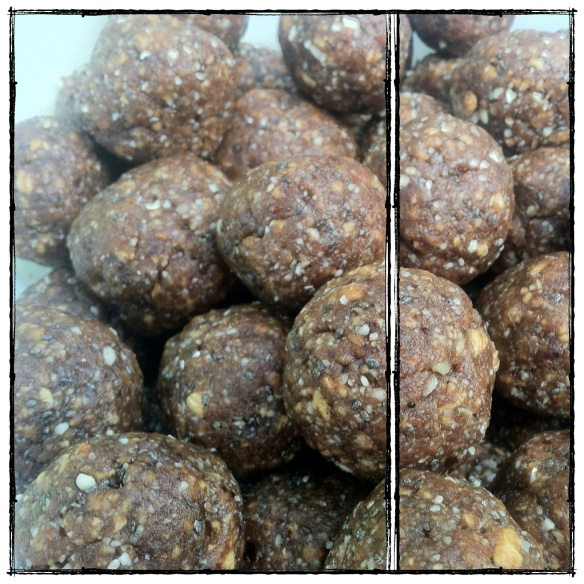 Apple Pie Balls (gluten : grain free, paleo)