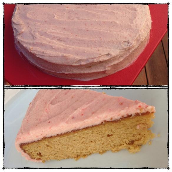 yellow vanilla cake, grain : gluten free, paleo